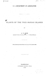 Plants of the Tres Marias Islands