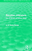 Egyptian Literature  Routledge Revivals  PDF