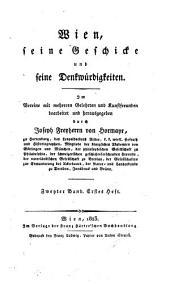 Wien, seine geschicke [!]: und seine denkwuerdigkeiten, Band 2