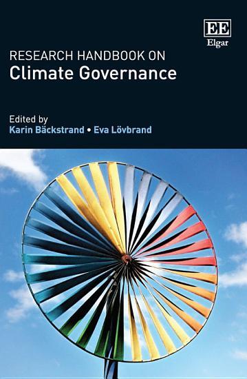 Research Handbook on Climate Governance PDF