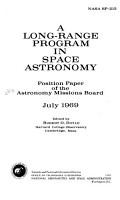 A Long range Program in Space Astronomy PDF