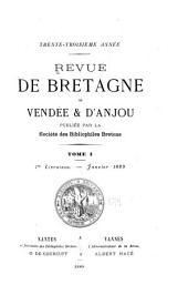 Revue de Bretagne, de Vendée & d'Anjou: Partie1