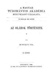 Az Oláhok története: 2. kötet