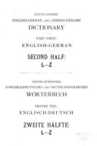 Encyclopaedic English German and German English dictionary PDF