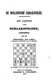 De Hollandsche schaakspeler: een zakboek voor schaakspelers