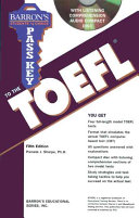 Pass Key to the TOEFL with Audio CD PDF