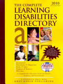The Complete Learning Disabilities Directory  2010 PDF