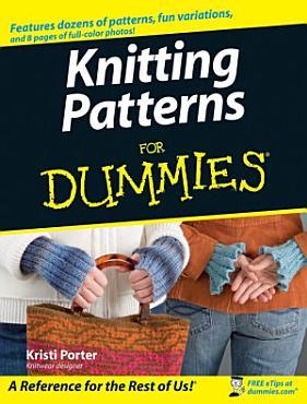 Knitting Patterns For Dummies PDF