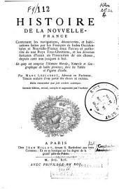 Histoire de la Nouvelle-France suivie des Muses de la Nouvelle-France: Volume1