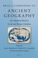 Brill s Companion to Ancient Geography PDF