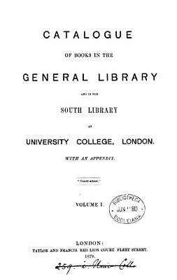 Catalogue of books in the general library and in the South library PDF