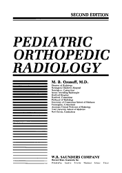 Pediatric Orthopedic Radiology PDF