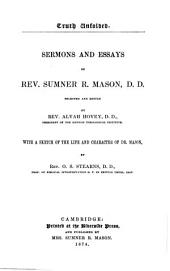 Truth Unfolded: Sermons and Essays of Rev. Sumner R. Mason