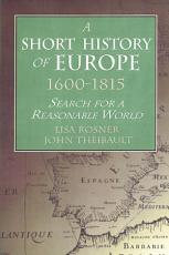 A Short History of Europe  1600 1815 PDF