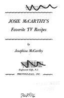 Josie McCarthy's Favorite TV Recipes