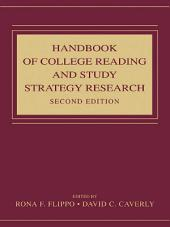 Handbook of College Reading and Study Strategy Research: Edition 2