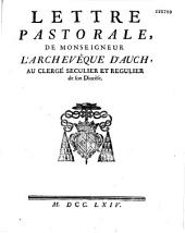Instruction pastorale de Mgr. l'archevêque de Paris [Christophe de Beaumont]