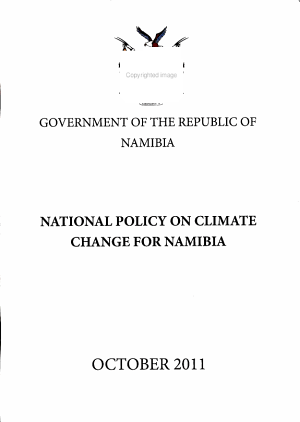 National Policy on Climate Change for Namibia PDF