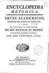Encyclopedia metódica: Artes académicos