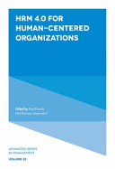 HRM 4.0 For Human-Centered Organizations