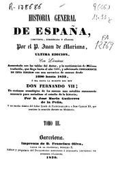 Historia general de España: Volumen 3