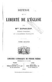 Défense de la liberté de l'Église, 2