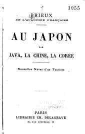 Au Japon par Java, la Chine, la Corée: nouvelles notes d'un touriste