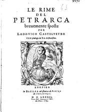Le Rime De Petrarca