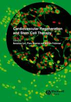Cardiovascular Regeneration and Stem Cell Therapy PDF