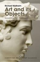 Art and its Objects PDF