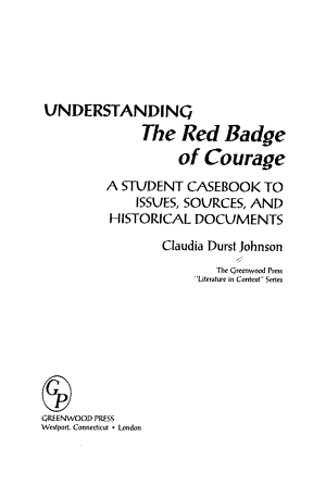 Understanding The Red Badge of Courage PDF