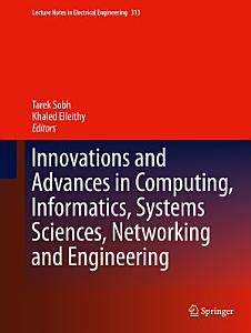 Innovations and Advances in Computing  Informatics  Systems Sciences  Networking and Engineering PDF
