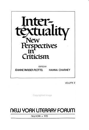 Intertextuality PDF