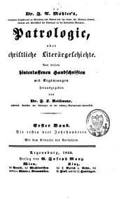 Patrologie oder christliche Literärgeschichte