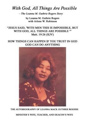 With God  All Things Are Possible PDF