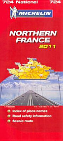 Mich Map France North 724 2011