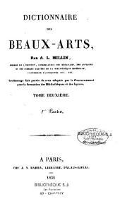 Dictionnaire des beaux-arts: Volume1,Partie2