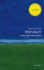 Privacy  A Very Short Introduction PDF
