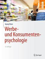 Werbe  und Konsumentenpsychologie PDF