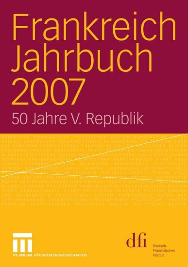 Frankreich Jahrbuch 2007 PDF