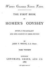 The first book of Homer's Odyssey: with a vocabulary and some account of Greek prosody