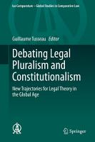 Debating Legal Pluralism and Constitutionalism PDF