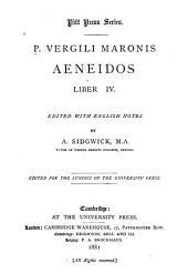 Aeneidos Liber IV: Volume 4