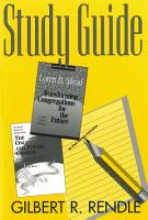 The Once and Future Church Study Guide PDF
