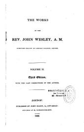 The works of Rev. John Wesley, A. M.