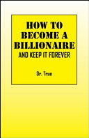 How to Become a Billionaire PDF