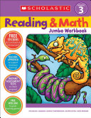 Scholastic Reading   Math Jumbo Workbook Grade 3