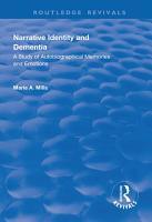 Narrative Identity and Dementia PDF