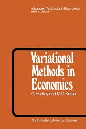 Variational Methods in Economics
