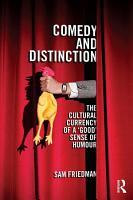 Comedy and Distinction PDF